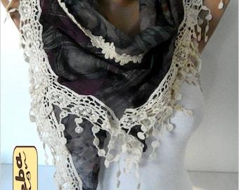 SALE ! 9,90 USD-Elegant scarf - Fashion scarf - scarves -Triangular Shawl-Fashion accessories-  for her-scarves