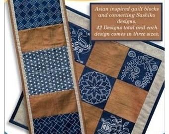 Asian Quilt Anita Goodesign embroidery Design CD