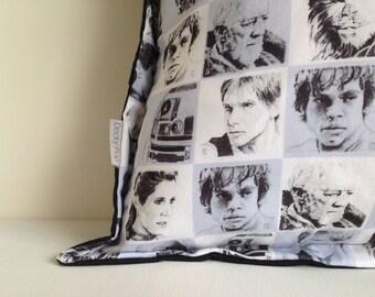 Luke Skywalker pillow Jedi cushion made with Star Wars fabric
