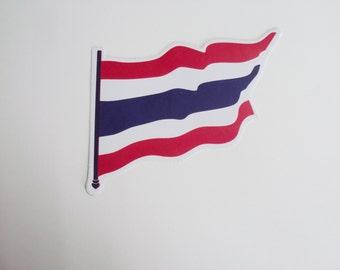 Thai Flag STICKER