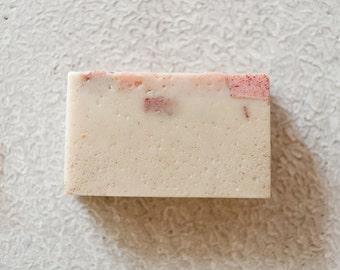 GRAPEFRUIT GERANIMUM SOAP   Organic    Soap   Balance Emotions   Boost Immunity
