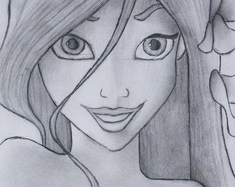 Enchanted Giselle Drawing