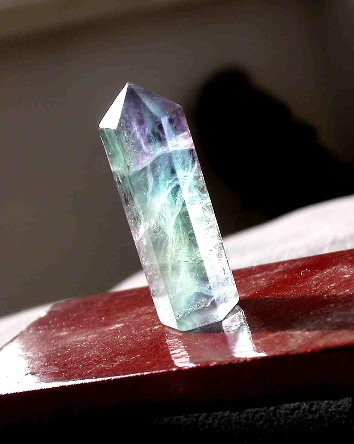 1pcs Quality 11 Color Max Professional Eyeshadow Palette: 1pcs High Quality Polished Natural Fluorite Quartz Crystal