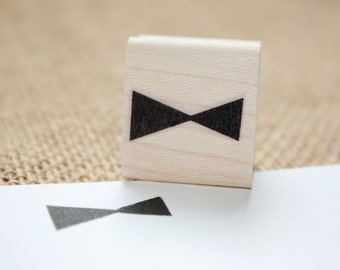 Abstract Triangle Rubber Stamp