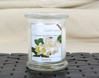 Gardenia Scented Candle -Scented Soy Candles, Gardenia Candles, Flower, White Flower Candles, Mothers Day Gifts, Birthday Gifts, Soy Coconut