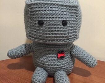 Beep Boop Beep!!! Custom Amigurumi Robot