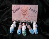Mermaid stitch markers