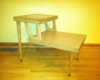 Vintage Mid Century Modern Side Table