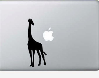 Giraffe macbook, computer, laptop, vinyl decal