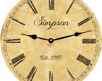 Classic Clock- Personalized Classic Clock