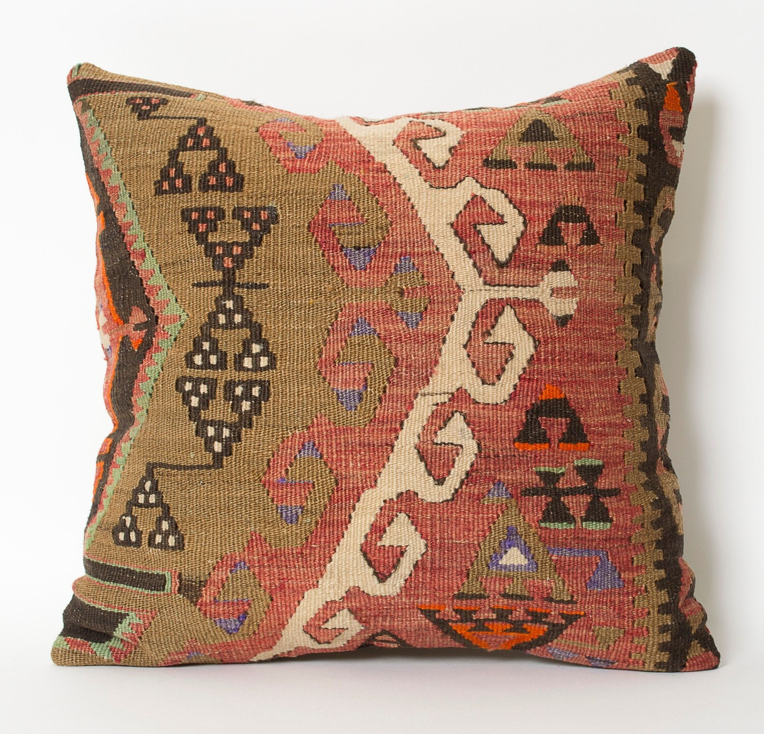 Decorative Pillows Kilim : couch pillow pillow designer pillow 16x16 pillow cover