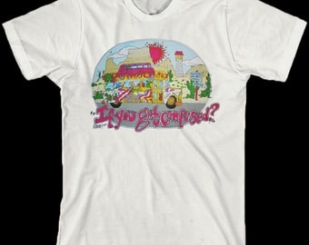 Grateful Dead T Shirt ....  Franklins Tower ... If you get confused, listen to the music play
