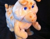 Teddy Ruxpins best friend Grubby animated from Worlds Of Wonder 1980s toy