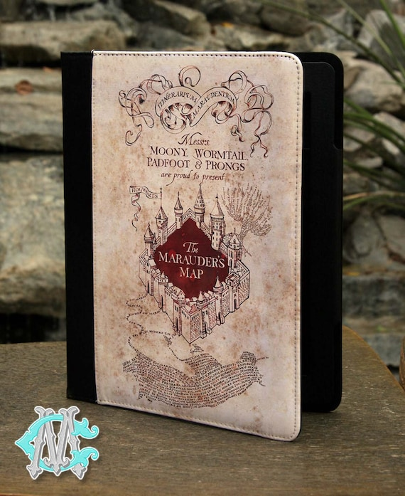 Harry Potter Book Kindle Case ~ Universal inch tablet case harry potter the