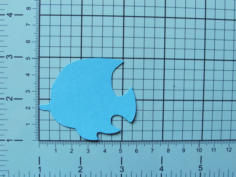 Purple Fish Die Cuts 25 Pc Set Paper Fish Die Cuts From