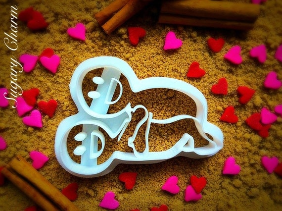 Valentine's day cookie cutter, Sexy cookie cutter, sexy cookies, Love cookies, Kama sutra cookies, Erotic cookies, sex cookies, #5