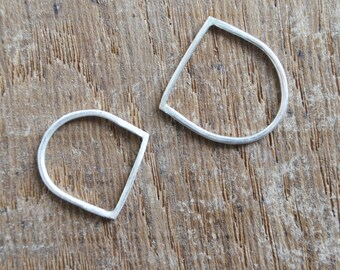 fine silver bar ring