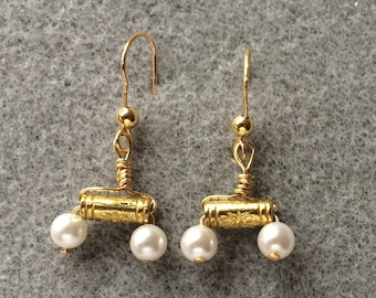 Pearls of Pompeii Earrings