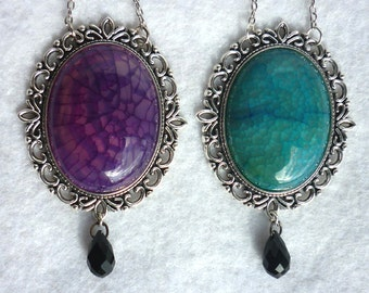 Dragon Egg, Agate Necklace - Two Colours - Daenerys, Game of Thrones