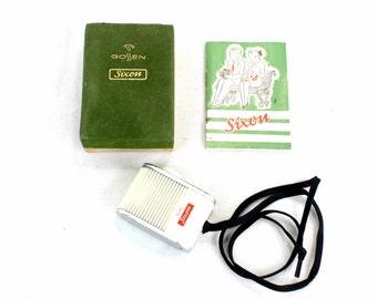 Vintage 1950s Gossen Exposure Meter Dual Sixon