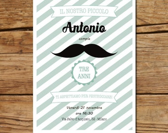 Printable picnic party invitation