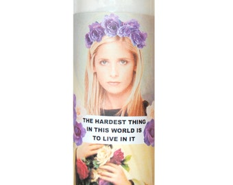 SAINT BUFFY Prayer Candle
