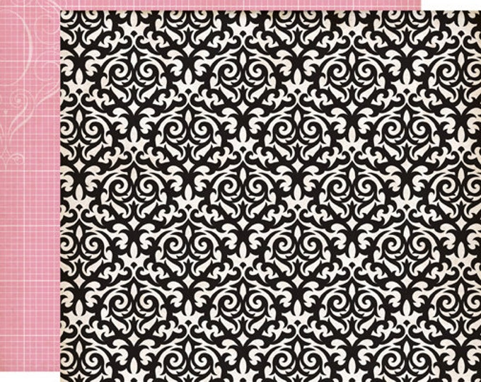 2 Sheets of Echo Park Paper YOURS TRULY 12x12 Valentine's Day Scrapbook Paper - Smitten