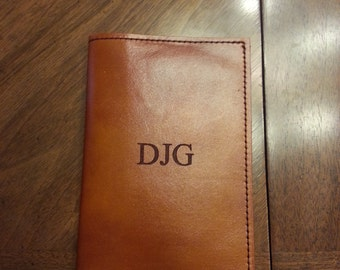 Leather passport cover, personalized, monogram wallet, travel wallet, passport holder, initials