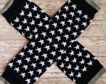 Black and white stars Leg Warmers-Baby-Toddler-Girls-boys Gift-Photo Prop