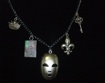 Man in the Iron Mask Book Necklace - Great Gift for Book Lovers!
