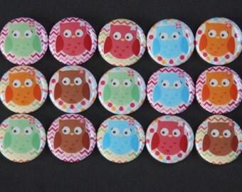 Owl Fridge Magnets - Owl Magnet - Owl Magnets - Owl Fridge Magnet - Owl Gift -  Fridge Magnet - Fridge Magnets