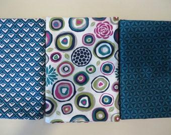 Rustique Collection turquoise fat quarter bundle by Michael Miller Fabrics