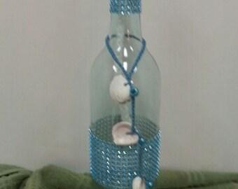 Wine Bottle Citronella Burner