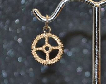 Bronze Gear 2 Pendant