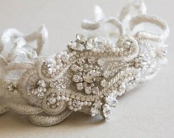 Bridal Garter Set - Style R35