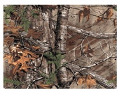 RealTree and Pink Realtree edible cake image cake topper  frosting sheet