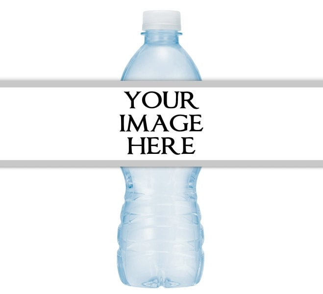 CUSTOM Printable Water Bottle Labels CUSTOMIZED For Your