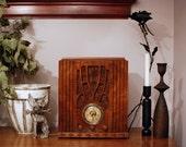 "Antique ""Knight"" Radio with Bluetooth"
