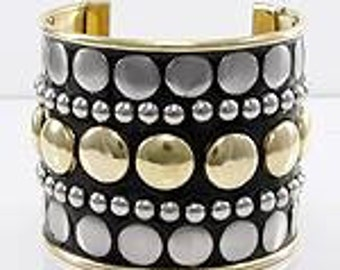 Eye-Catching Cuff Bracelet