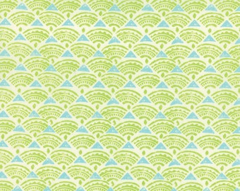 Horizon Green Tide Yardage # 27197-11 Kate Spain for Moda Fabrics