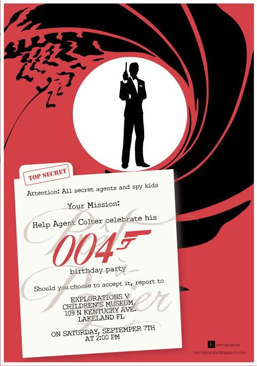 Casino Royale Party Invitation Templates