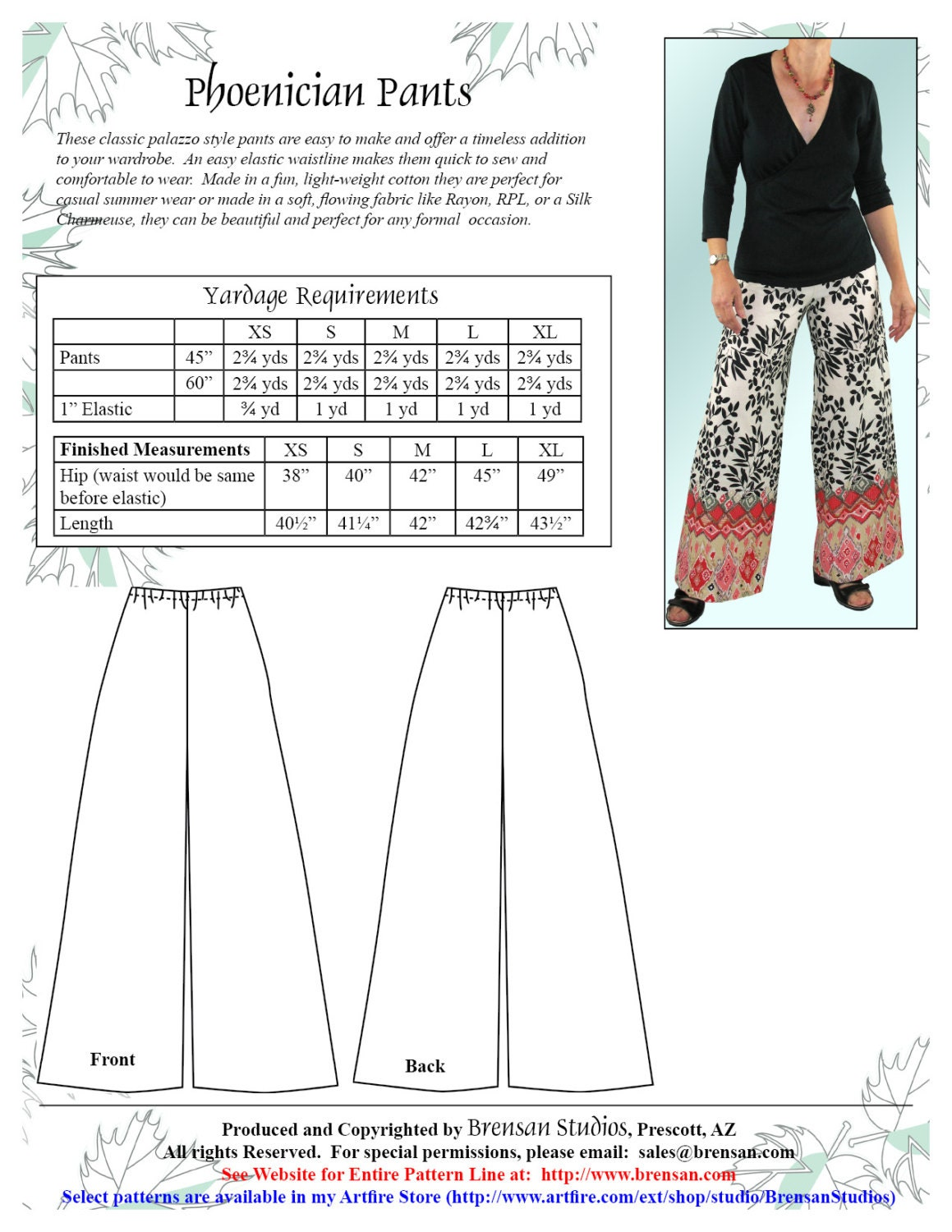 Wide leg pants sewing pattern images craft decoration ideas phoenician pullon pants sewing pattern wide leg palazzo pants phoenician pullon pants sewing pattern wide leg jeuxipadfo Image collections