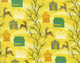 SALE Forest Hill in Citrus (Voile Fabric) by Anna Maria Horner from the Little Folks collection for Free Spirit