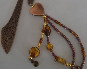Beauiful Beaded Bookmarks
