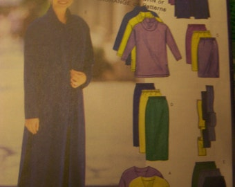 Women's, Misses' sewing pattern Butterick 5699  UNCUT Sizes 8-10-12  Fast and Easy