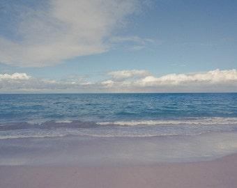 Maluaka Beach, Maui, Hawaii, tropical decor, tropical art, ocean decor, ocean art, beach decor, beach art, blue home decor, ocean photograph