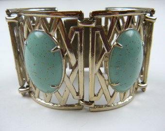 Mid-20th Century Extra Wide and Chunky Bracelet