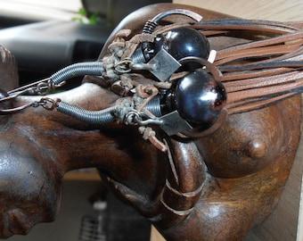Sabi - Primitive Tribal Inspired Earrings