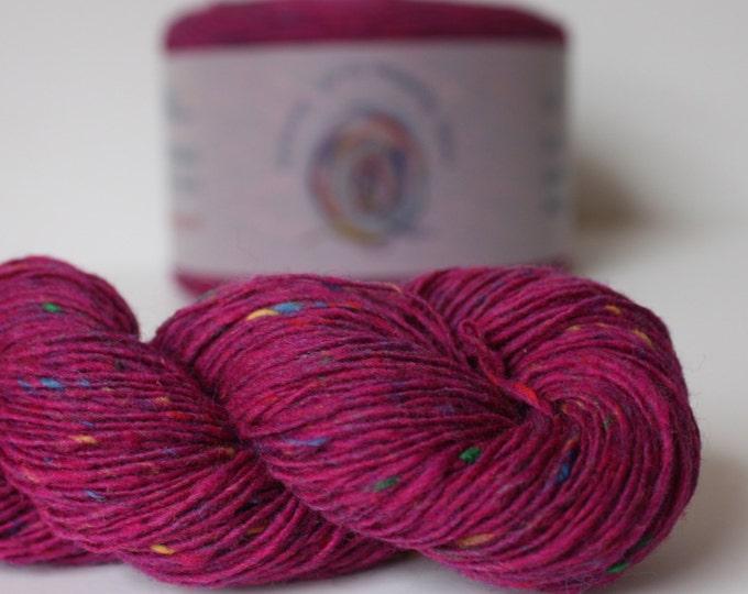 Spinning Yarns Weaving Tales - Tirchonaill 566 Carnival Pink 100% Merino for Knitting, Crochet, Warp & Weft