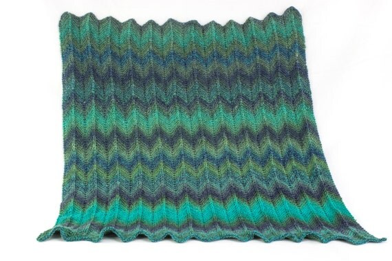 KNITTING PATTERN, Baby Afghan Knitting Pattern, Baby ...